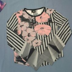 JUST CAVALLI top In EUC! Don't use enough! Just Cavalli Tops Tees - Long Sleeve