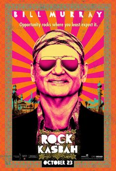 Design by BLT: 26 great movie posters: Rock the Kasbah. Client: Open Road Films
