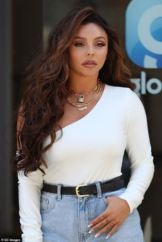 Torture: Jesy Nelson, has revealed that during the early days of Little Mix she would . Jessy Nelson, Little Mix Jesy, Litte Mix, Perrie Edwards, Girl Bands, Single Women, Celebrity Photos, Role Models, My Idol