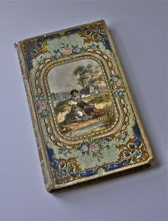Beautiful Antique French Book 1857 by FleurStreetVintage on Etsy Sadly, they just don't make books like this anymore.