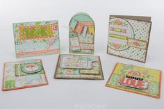 #Cards mad with We R Memory Keepers Simply Spring collection