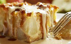 Apple Tuscan Bread Pudding
