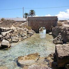 #Formentera Sa sequi, la acequia que comunica el estany Pudent con el mar. | Flickr - Photo Sharing!