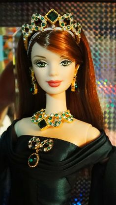 Empress of the Emerald Barbie | Flickr - Photo Sharing!