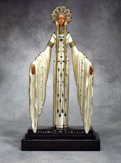 Lot 349   ERTÉ  Byzantine  Bronze sculpture  20 × 10 × 4 inches  Gallery pricing: $16,850  MLG Auction reserve: $10, 065.