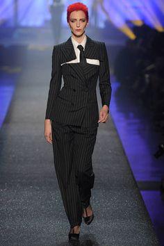 The Best Jean Paul Gaultier RTW Runway Looks - Photos of JPG Runway Models - Elle