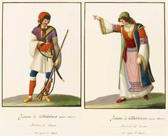 Traditional costumes of the Arbëreshë (Albanians of Italy)