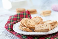 A recipe for Paleo and Gluten-Free Shortbread Cookies