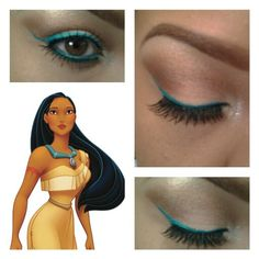 #disney #makeup #fun #natural pop of # color