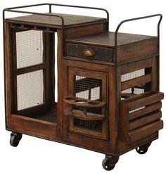 Dining  Bar Cart by Furniture Source International