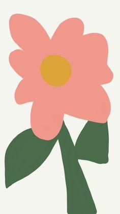 아이패드로 그린 아이폰 심플 감성 일러스트 배경화면 3탄 : 네이버 블로그 Art And Illustration, Graphic Design Illustration, Flower Pictures, Art Pictures, Adobe Illustrator Tutorials, Cute Patterns Wallpaper, Pretty Wallpapers, Colorful Drawings, Art Studios