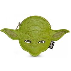 Loungefly Star Wars Yoda Faux Leather Face Coin Bag - Radar Toys  - 1