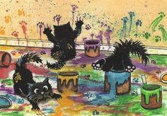 Touche S  et retouche S  effectuées   par    Mignonnes illustrations de l'artiste Amylyn Bihrle   à plus tard et Belle journée