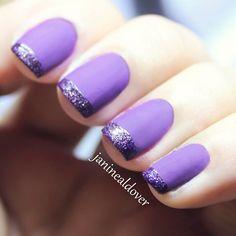 Purple matte  @ janinealdover
