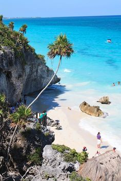 Beautiful Beach, Mexico