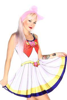 Sailor Moon Skater Dress at Living Dead Clothing