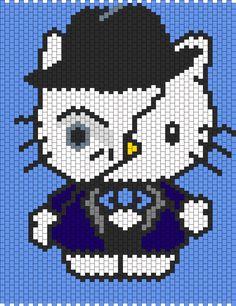 Phantom Of The Opera Hello Kitty bead pattern