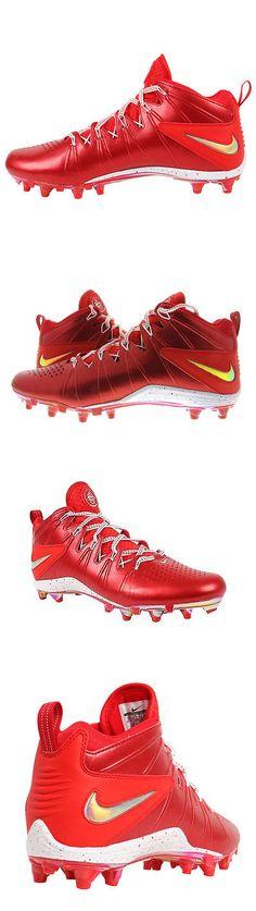 Footwear 159154: Nike Huarache 4 Lx Le Lacrosse Red White Metallic Men S Size 13 New Never Worn -> BUY IT NOW ONLY: $35.99 on eBay!