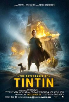 The Adventures of Tintin Directed by Steven Spielberg. With Jamie Bell, Andy Serkis, Daniel Craig, Simon Pegg. Intrepid reporter Tintin and Captain Haddock set off on a treasure hunt for a sunken ship commanded by Haddock's ancestor. Jamie Bell, Family Movies, Top Movies, Great Movies, Movies To Watch, Simon Pegg, Daniel Craig, Love Movie, I Movie