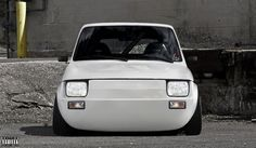 Front of Fiat 126 by Slbamm Maluch xD Superb Fiat 126 by Slbamm Fiat 126, Moto Car, Fiat Cars, American Classic Cars, Sweet Cars, Cute Cars, Modified Cars, Small Cars, Concept Cars