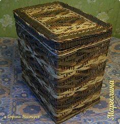 Поделка изделие Декупаж Плетение Схемы для ситца -5 Бумага Бумага газетная Трубочки бумажные фото 1