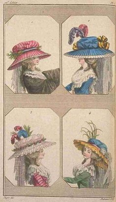 Cabinet des Modes (later Magasin des Modes), May 1786.  *sigh*