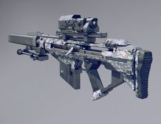 A sniper rifle inspired by xcom, destiny and borderlands