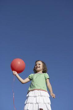 balloon and sky.