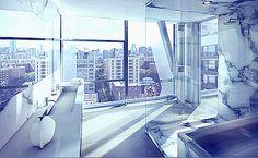 Neil Denari's 14th Level HL23, Chelsea, New York, USA Real Estates, Luxury Real Estate, Chelsea, New York, Usa, Real Estate, New York City, Nyc, Chelsea Fc