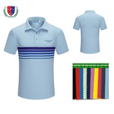 Polyester Bleach Private Label Golf Clothes Men's Polo T Shirt