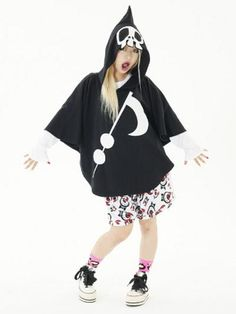 Psycho Poncho / See more at http://www.cdjapan.co.jp/apparel/new_arrival.html?brand=SLV #harajuku
