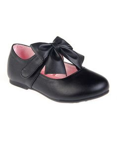 Another great find on #zulily! Black Bow Place Mary Jane #zulilyfinds