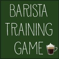 Barista Training Game - NOt quite CDS standard vut still a lot of fun :)
