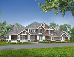 Luxury Master Suite with Sitting Room & Fireplace - 2387JD - 02