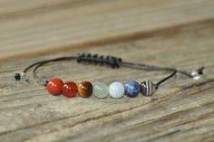 Hey, I found this really awesome Etsy listing at https://www.etsy.com/listing/265169704/7-chakra-bracelet-crystal-healing-yoga