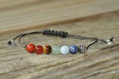 7 Chakra Bracelet, Crystal Healing, Yoga Bracelet, Meditation Bracelet, Chakra…