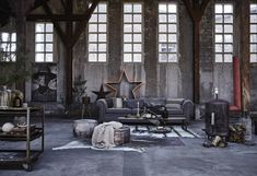 Feestelijke woonkamer | Festive living room | Styling Cleo Scheulderman | Fotografie Alexander van Berge | vtwonen december 2015