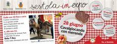 Ci siamo... #sagre #festa #bambini #cavalli #merenda #nutella