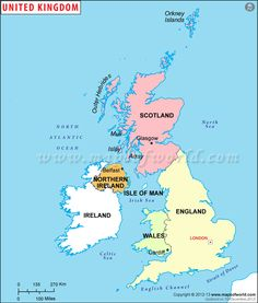 UK Regions Map - Explore the regions in UK map including England, Wales, Scotland and Northern Ireland. Map Of Britain, Great Britain, United Kingdom Map, Belfast Northern Ireland, Orkney Islands, England Ireland, Irish Sea, Country Maps, North Sea
