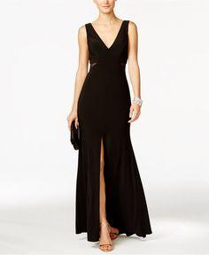 Awesome Junior Bridesmaid Dresses Xscape Petite Illusion Flyaway Gown - Dresses - Women - Macy's... Check more at http://24myshop.ml/my-desires/junior-bridesmaid-dresses-xscape-petite-illusion-flyaway-gown-dresses-women-macys/