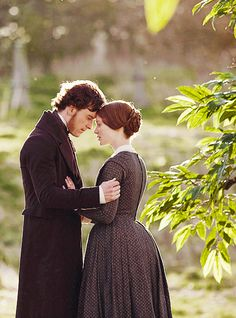Jane Eyre - Michael Fassbender & Mia Wasikowska (Bronte but the Brontes live within hailing distance of Austen, so.)