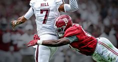 Reggie Ragland l: Texas A&M at Alabama: 2014