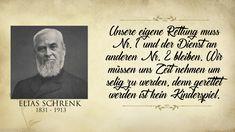 Elias Schrenk: ...denn gerettet werden ist kein Kinderspiel. Christliche Spruchkarte