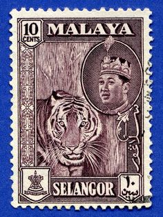 Malaya stamp Flickr