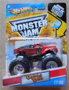 2011 Hot Wheels Captain's Curse #17 Monster Jam tattoo series Variant  #HotWheels #diecast