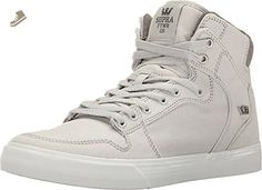 01941261008c Supra Unisex Vaider Grey Violet White Canvas Athletic Shoe - Supra sneakers  for women ( Amazon Partner-Link)
