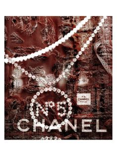 No. 5 Bling (Canvas) by Marmont Hill at Gilt www.marmonthill.com. Chanel inspired canvas artwork.