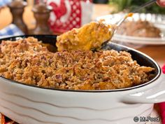 Sweet Potato Casserole | mrfood.com