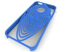 A cocoon design with Guilloch?-like lines intersecting and overlapping. This iPhone 5 case provides protection and style. This product is provided to you by 3DLT. When you buy a product from us you are not buying one of thousands, you are buying a unique product that has been specifically produced just for you. All of our products are crafted with groundbreaking 3D printing technology.