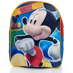 Mickey Mouse Backpack (Boys)
